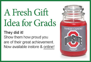 Ohio State University College Logo Candle