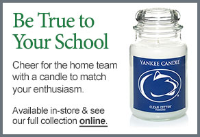 Penn State University College Logo Candle
