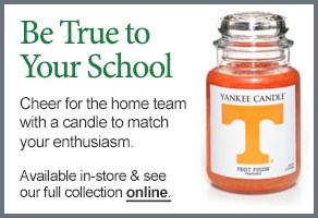 University of Tennessee College Logo Candle